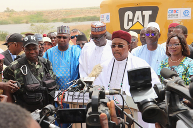 Groundbeaking Ceremony of Hydropower Station Held in Niger